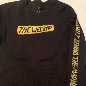 2 The Weeknd Shirt and Long Sleeve